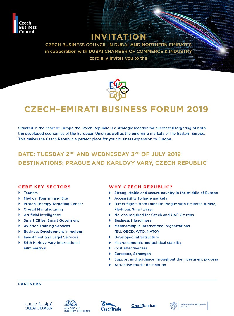 CZECH-EMIRATI BUSINESS FORUM